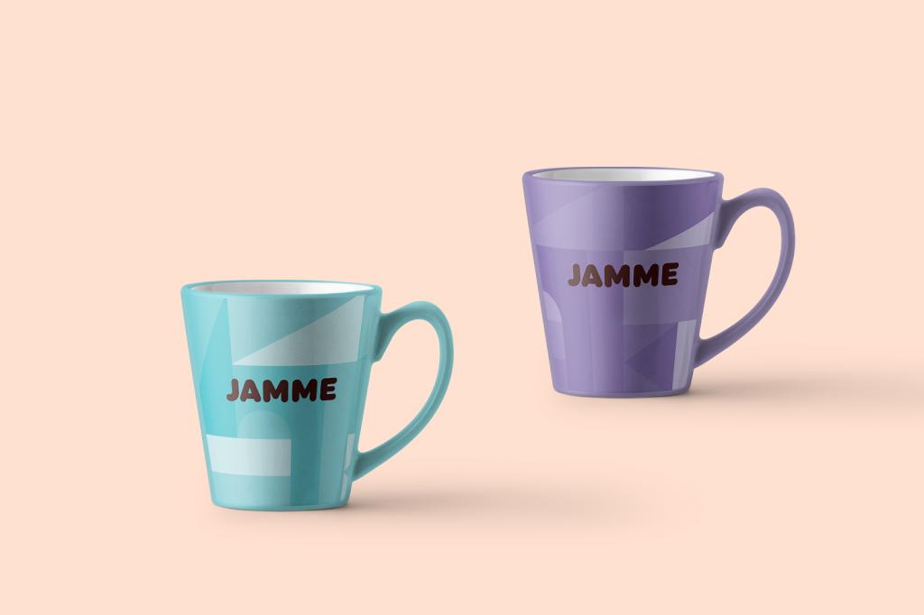 Design - Jamme biscuits - cup