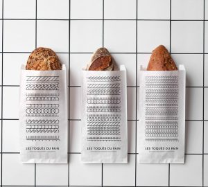 Les Toques du Pain Visual Identity for a bakery by Les Bons Faiseurs
