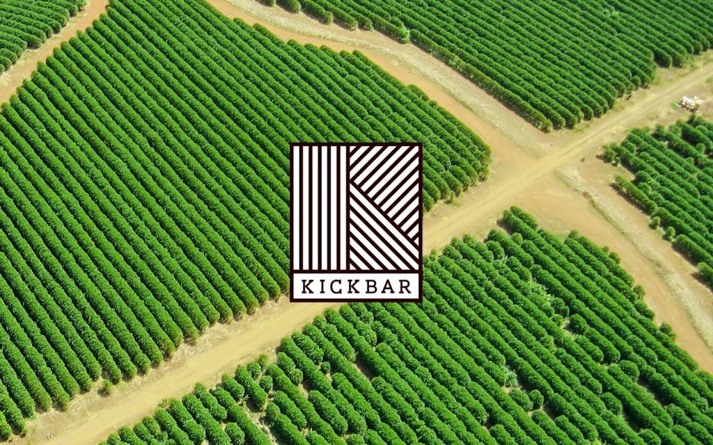 Kickbar packaging and identity