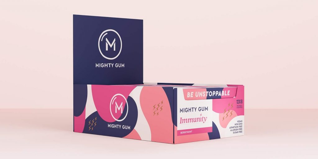 Design - Mighty Gum - box