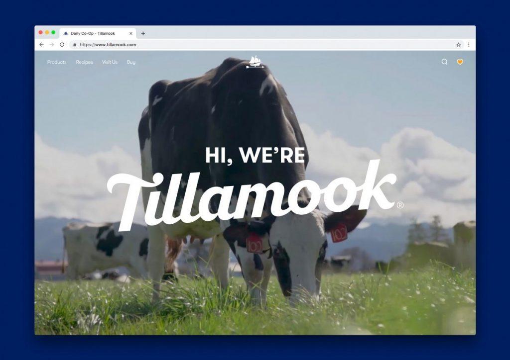 Tillamook - web site