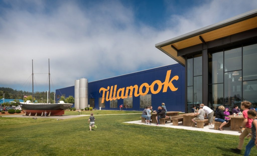 Tillamook - outside