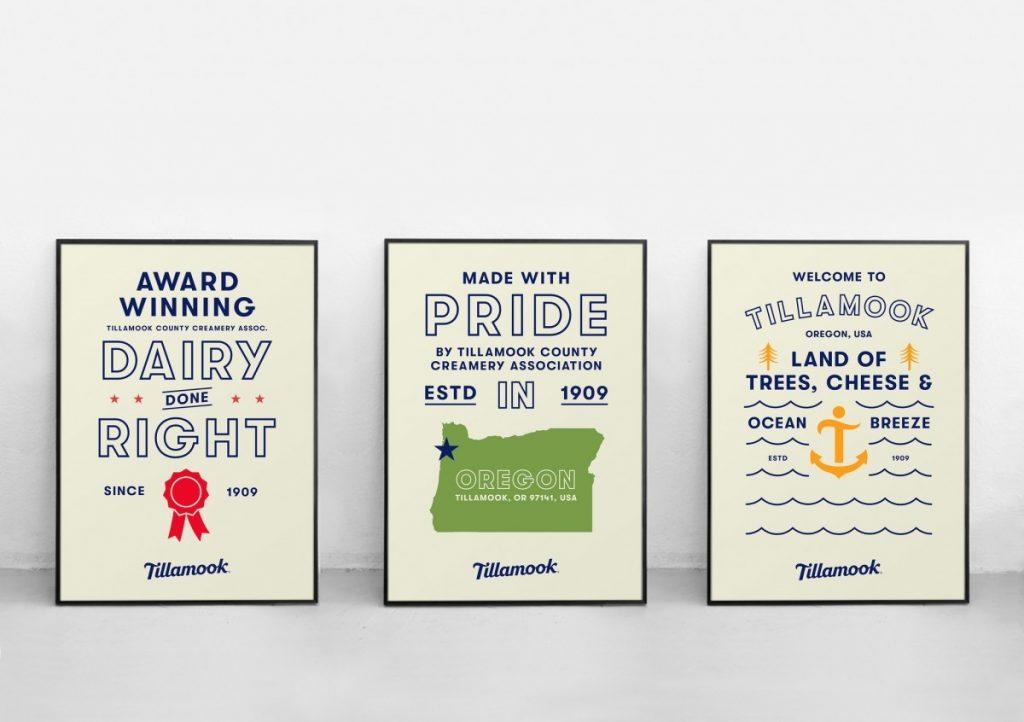 Tillamook - posters