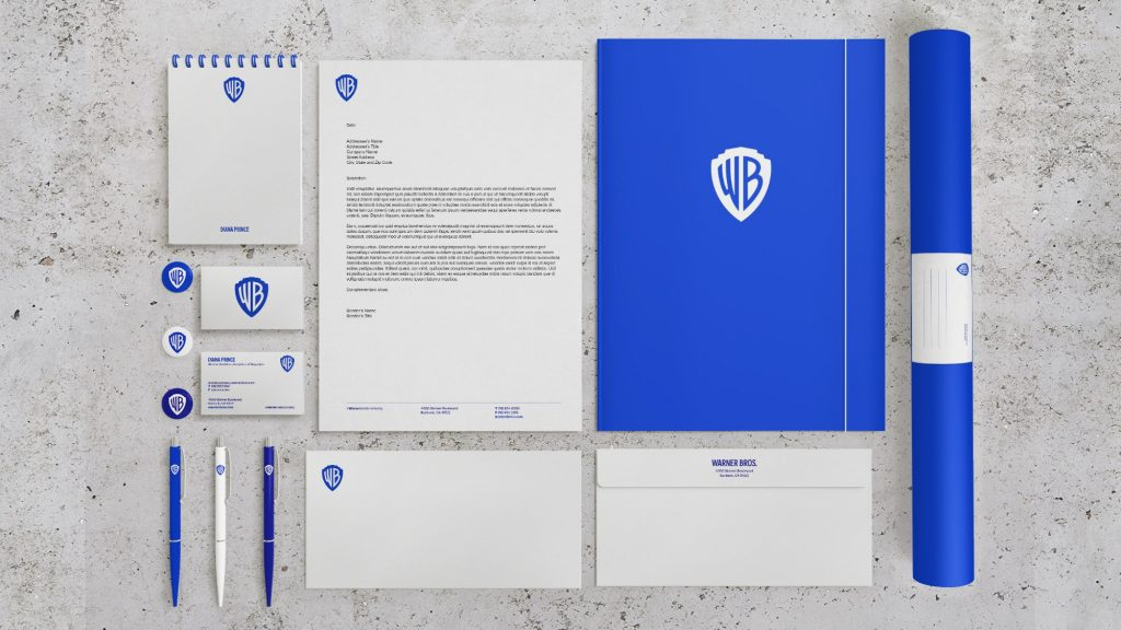 Warner Bros rebranding by Pentagram