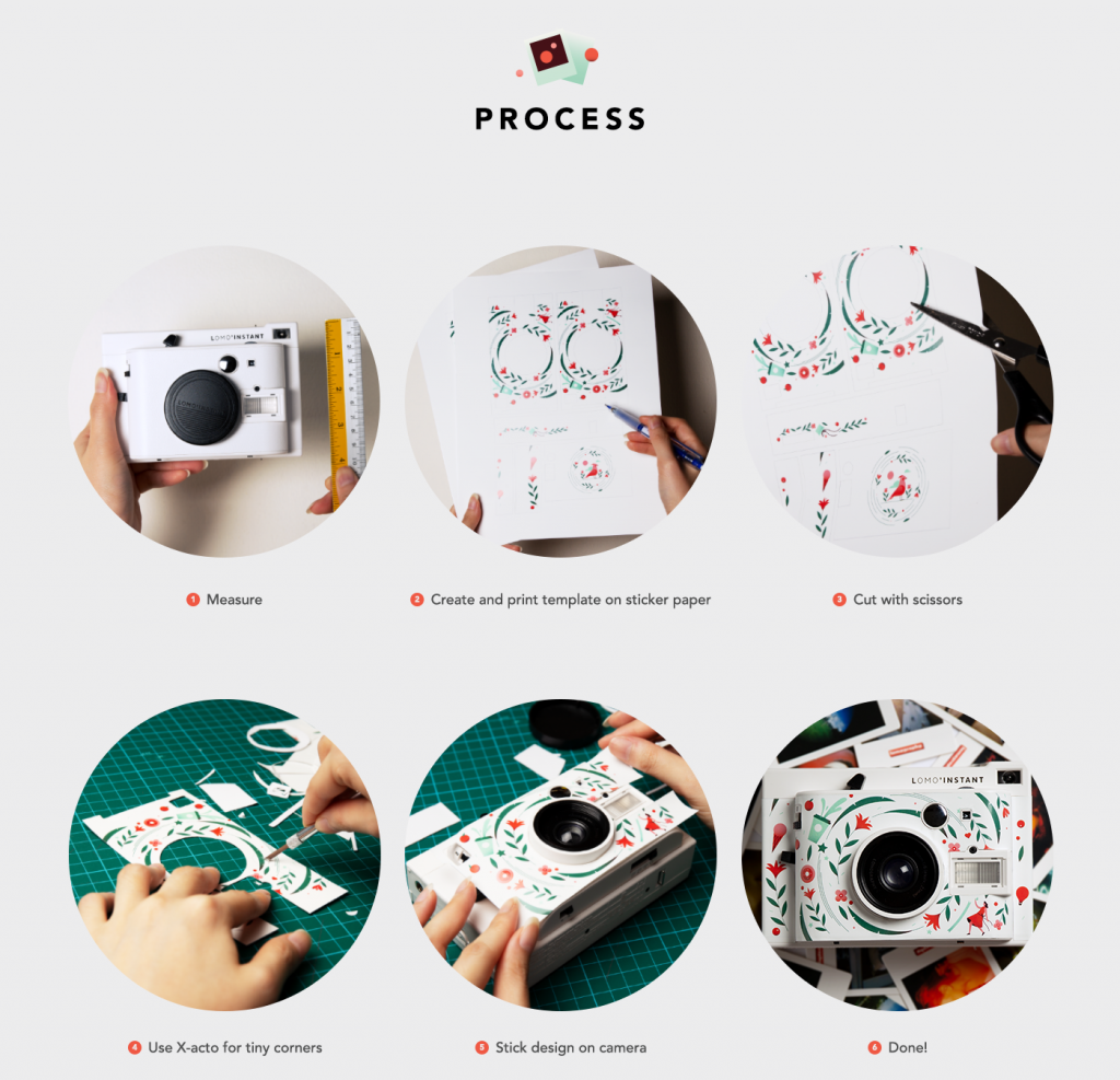 Collaboration: Lomography x Elen Winata / process