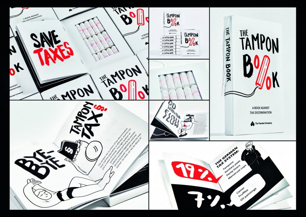 Epica Awards 2019 - PR Gradn Prix - The Tampon Book