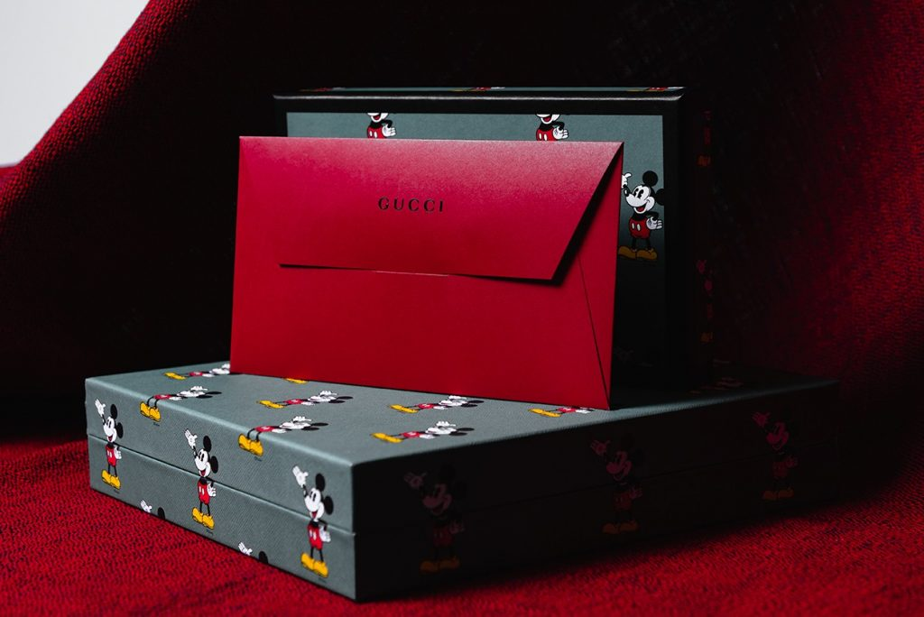 Lunar New Year Red Pocket - Gucci Disney