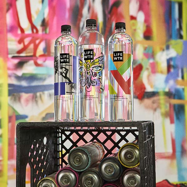 Lifewtr Series 5: Arts in Education Bottled Water by Pepsico Design & Innovation