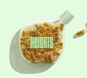 Heights packaging by Pentagram