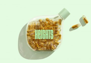 Heights packaging by Pentagram