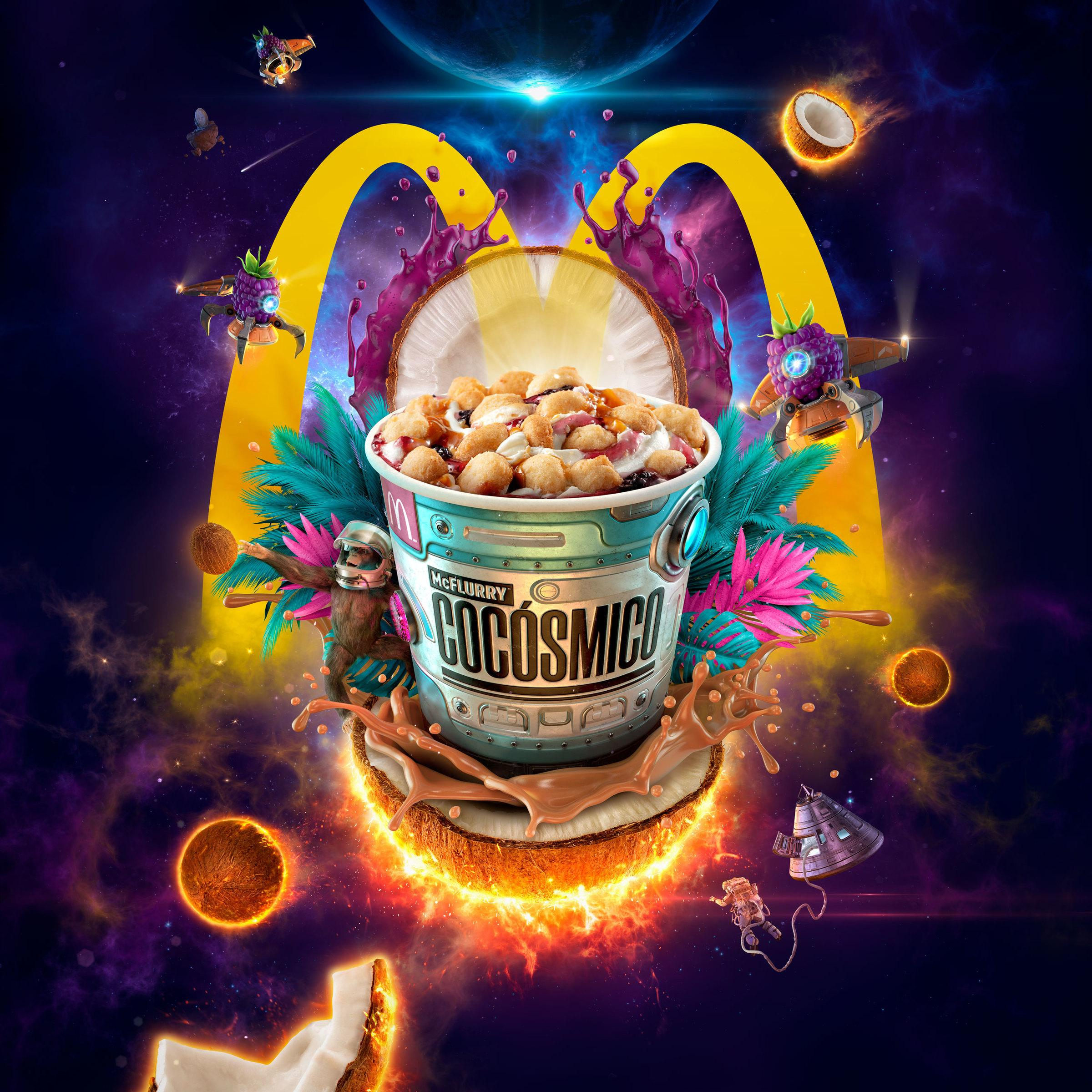 McDonald's Ads - McFlurry Cocosmico