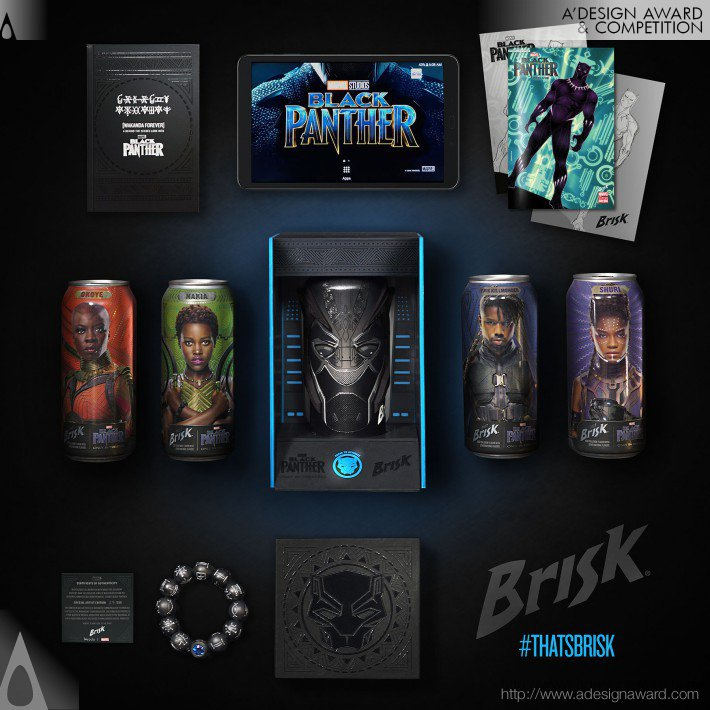 Images of Brisk x Marvel Studios: Wakanda Forever by PepsiCo Design and Innovation