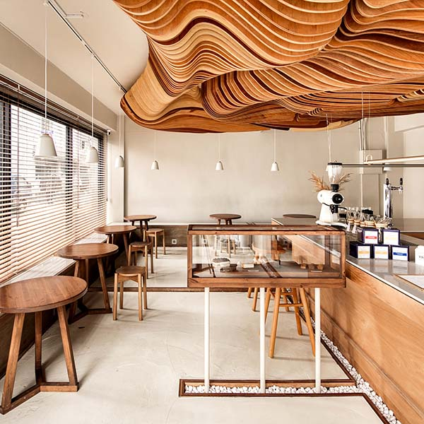 A'Design Awards winner - Perception Cafe by Haejun Jung-Feelament - interior winner