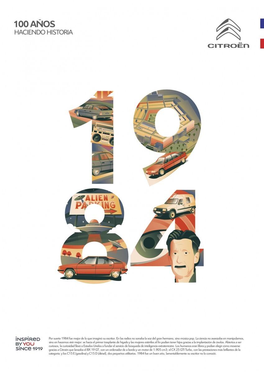 Citroen 100 anniversary