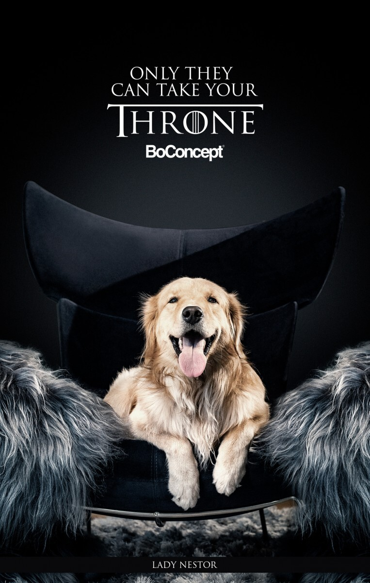 BoConcept - Only They Can Take Your Throne