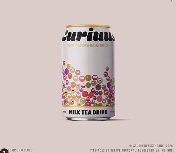 Blackthorns Design - 366Challenge-Curiuus milk tea drink