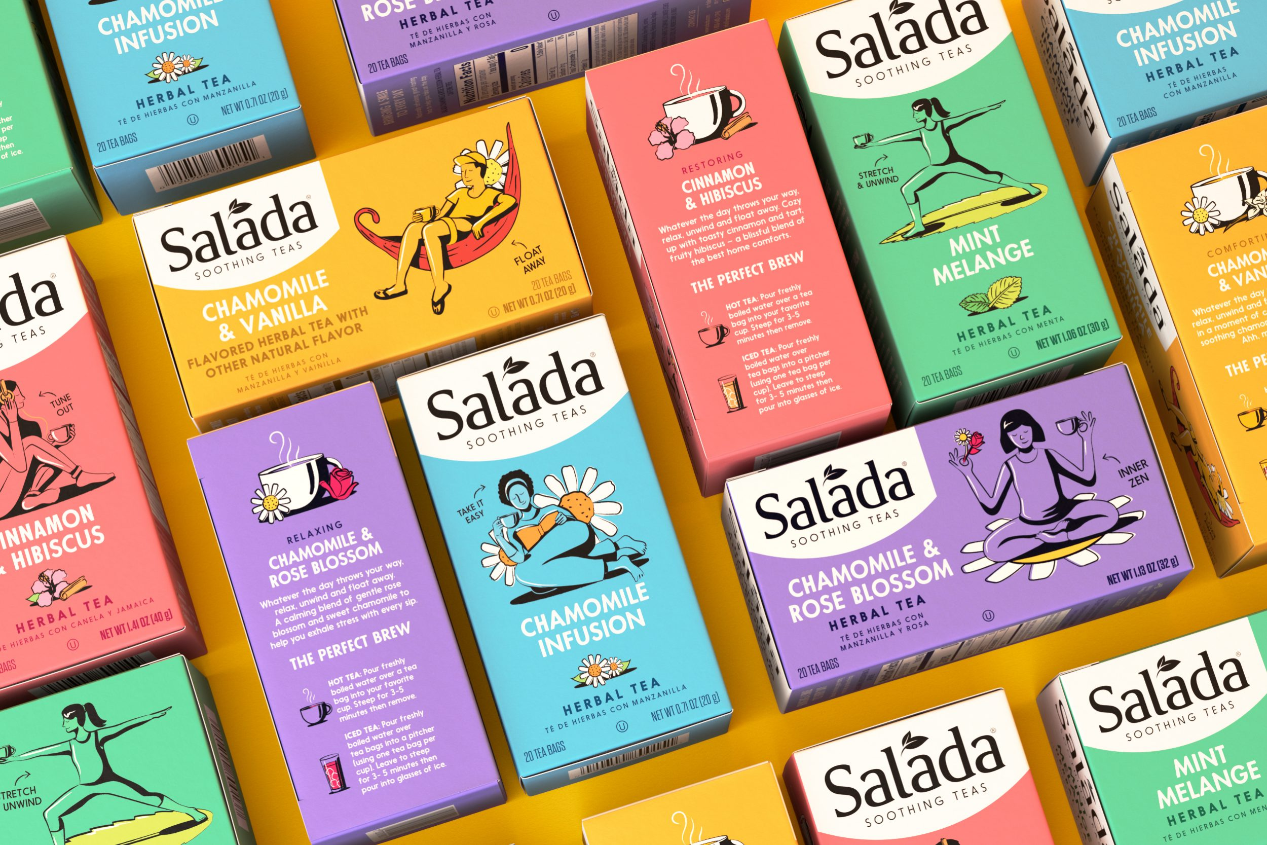 Salada Soothing Teas by Thirst Craft