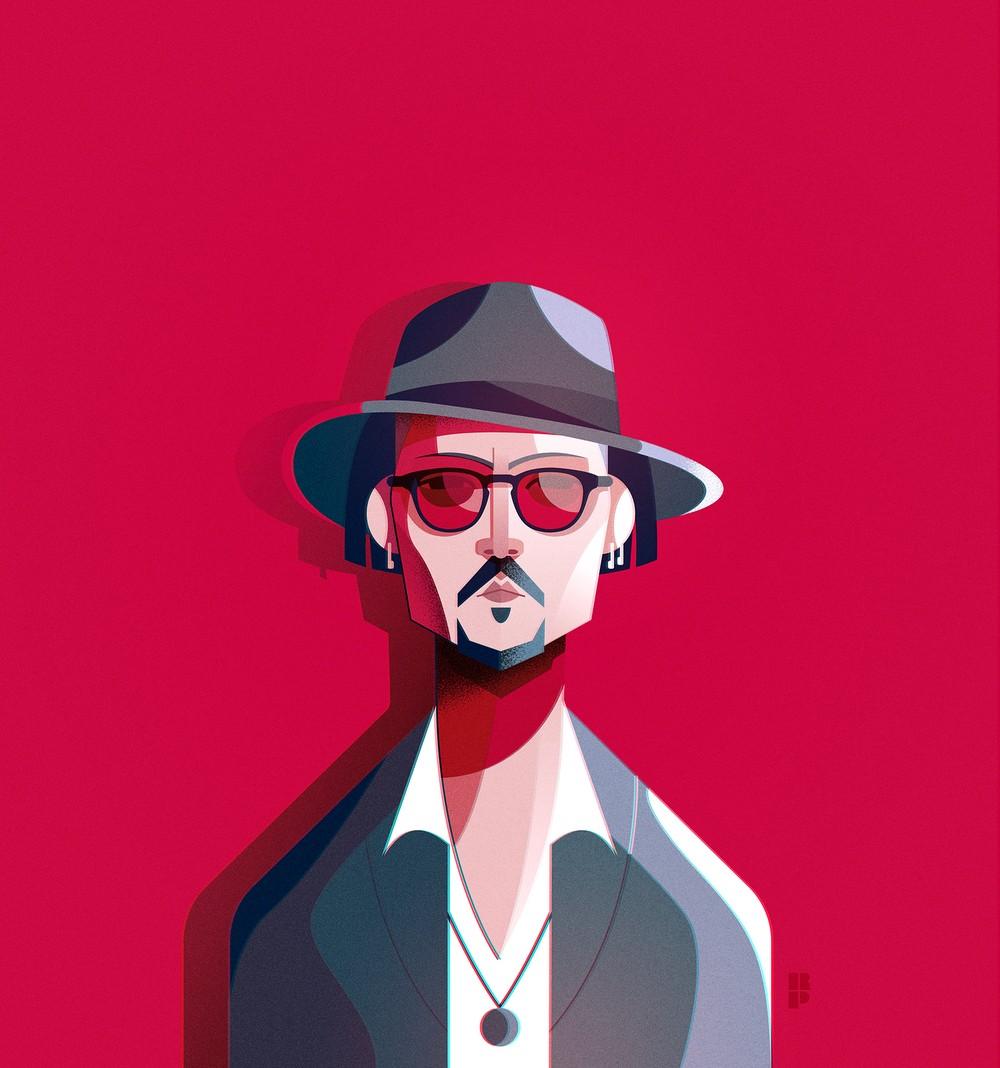 Ricardo Polo - Johny Depp