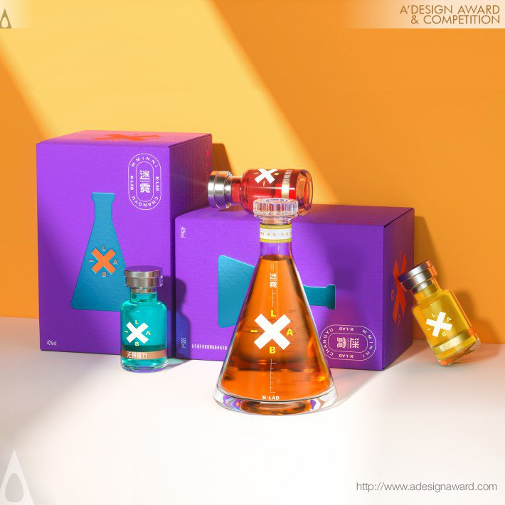 Mminni Alcoholic Beverage Packaging by Wen Liu, Qiumin Chen and Weijie Kang