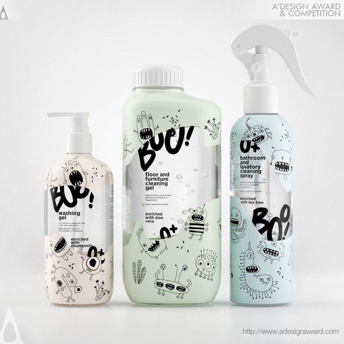 Boo Baby Friendly Cleaning Product by Evgeniya Abramova