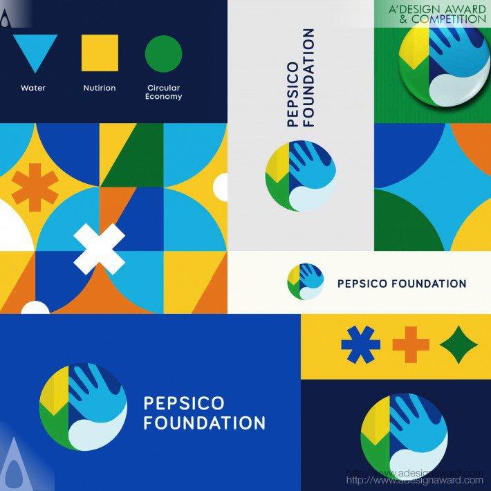 PepsiCo Foundation Identity System by Dennis Furniss