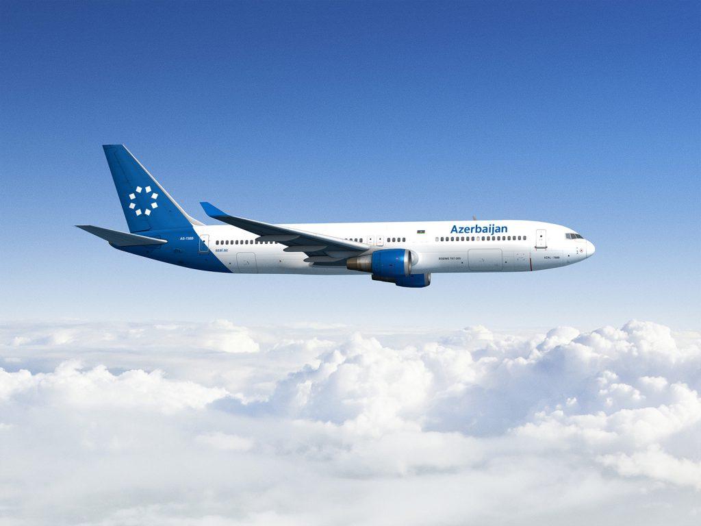 Azerbaijan Airlines branding