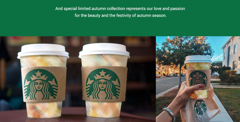 Starbucks Autumn Edition