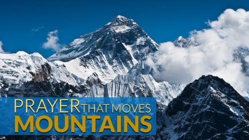 Prayer The Moves Mountains