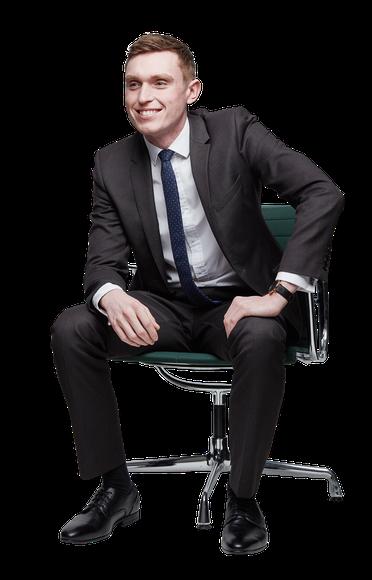 Alex Horkan Sitting
