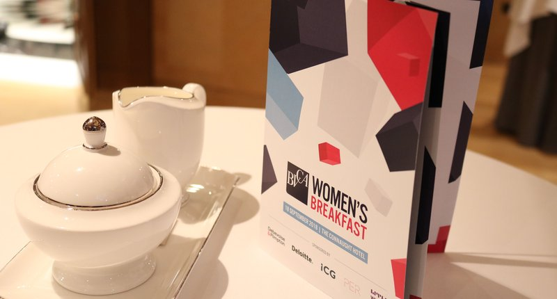 BVCA Women's Breakfast September 2018