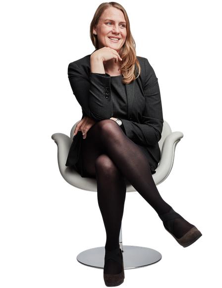 Christine Koch Sitting