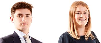 David Linton and Zoe Proudfoot