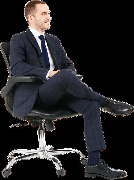 Hugo Clark Sitting
