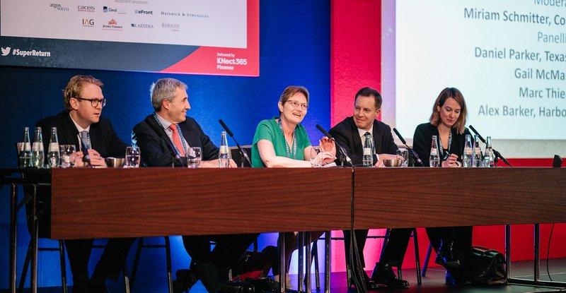 Gail's panel at SuperReturn
