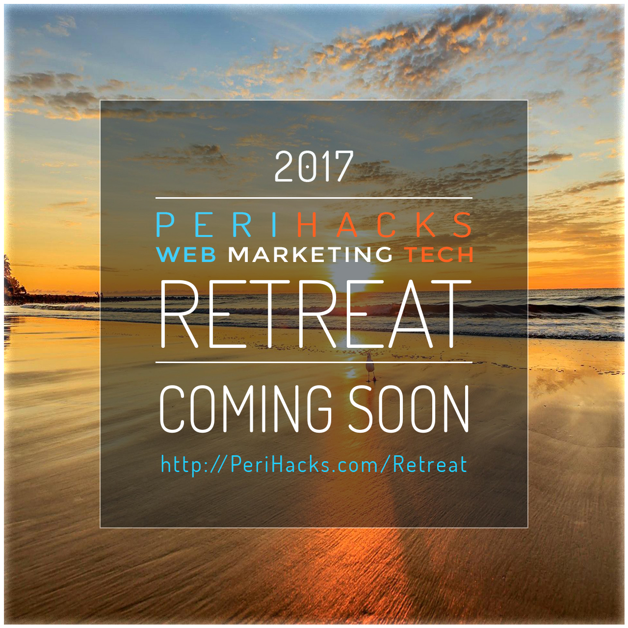 PeriHacks Retreat 2017 coming soon!