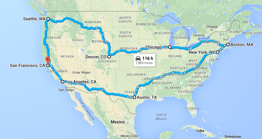 Solving traveling salesman problem