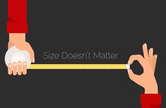 Size press thumb