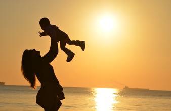Baby beach child 51953