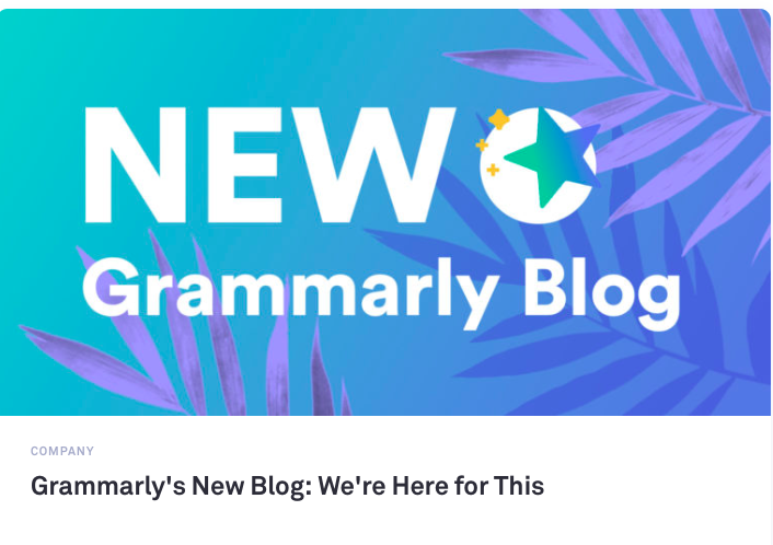 grammarly email blogs to follow marketing