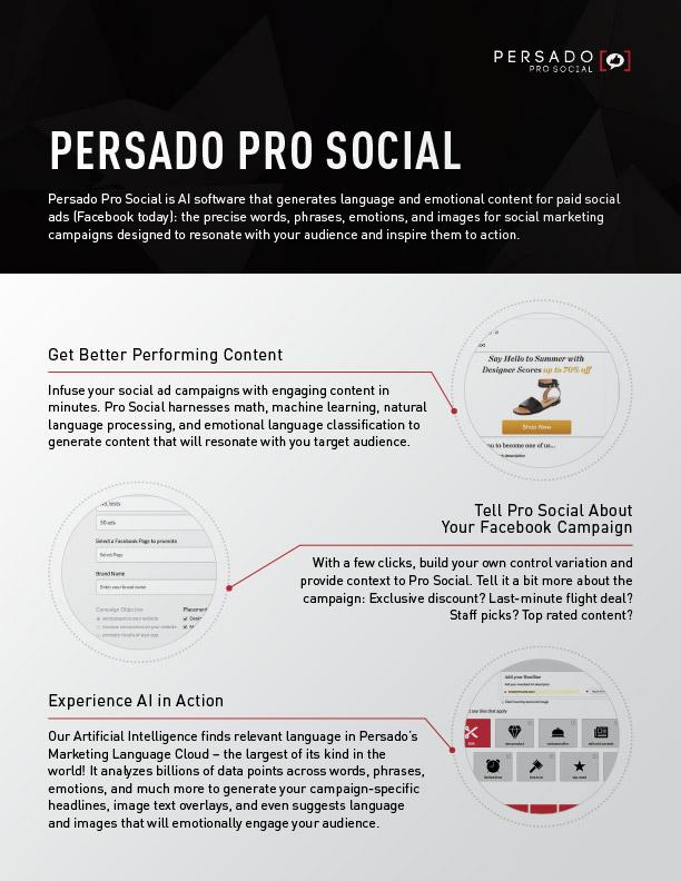 Datasheets prosocial