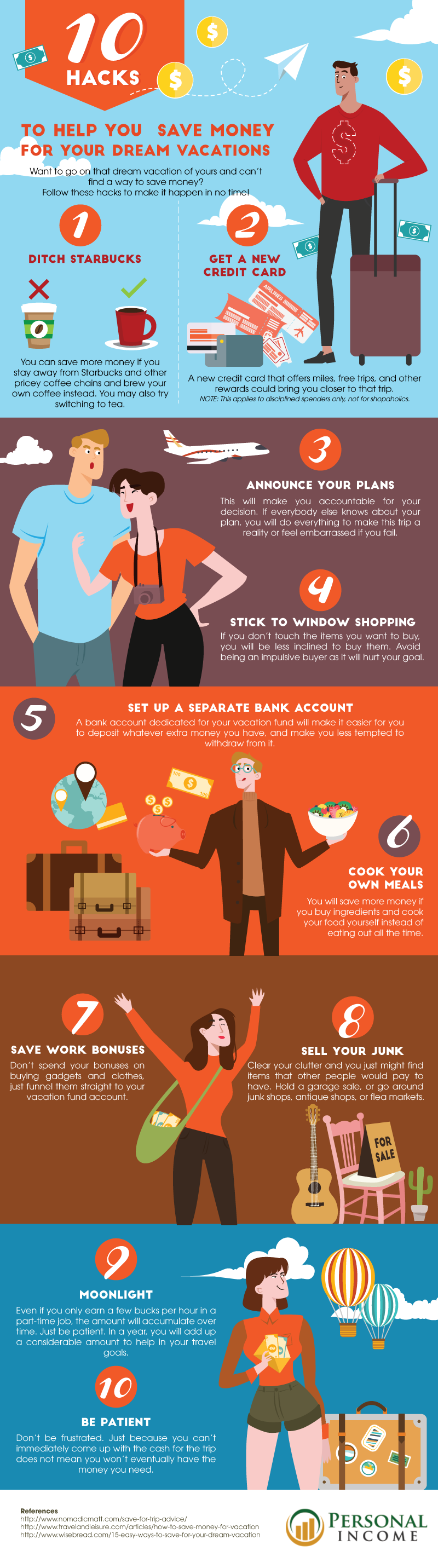 10 Hacks to Help You Save Money for Your Dream Vacations_AOT