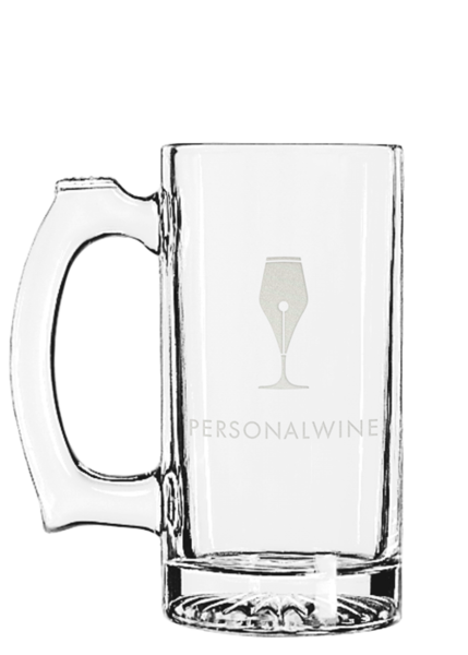 Glass mug25 engraved