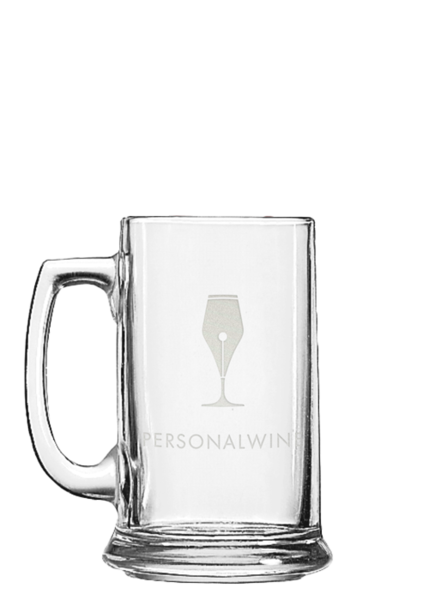 Glass mug15 engraved