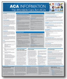 personnelconcepts all on one aca information center poster