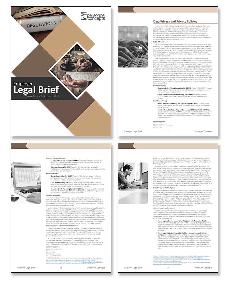 Employer-Legal-Briefs-newsletter-from-Personnel-Concepts