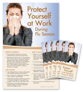 Flu  Awareness  Poster  Kit