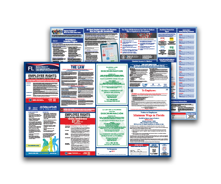 Florida  Labor  Law  and  OSHA  Safety  Posters  Bundle