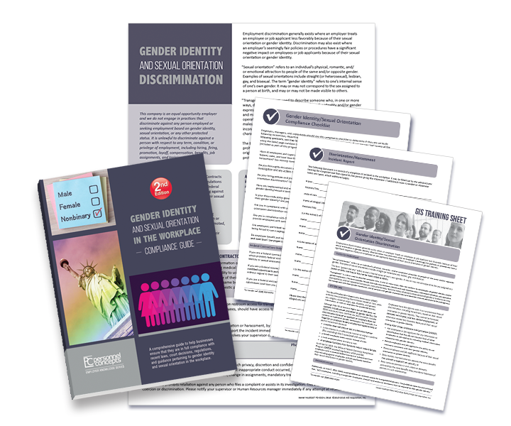 Gender  Identity  and  Sexual  Orientation  Anti-Discrimination  Compliance  Kit (2nd Edition)