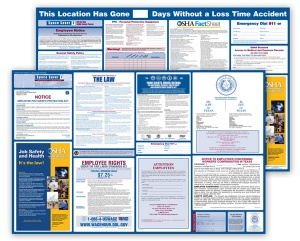 Missouri  Labor  Law  and  OSHA  Safety  Posters  Bundle