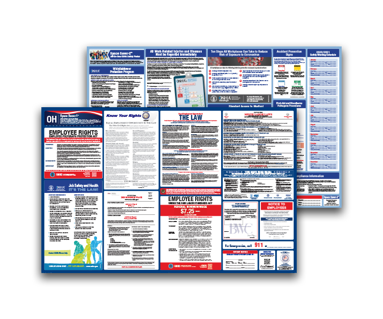 Ohio  Labor  Law  and  OSHA  Safety  Posters  Bundle